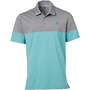 adidas Men's Ultimate365 Heather Block Golf Polo