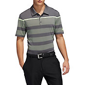 adidas Men's Ultimate365 Engineered Stripe Golf Polo