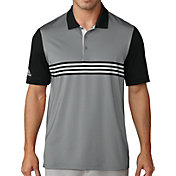adidas Men's Ultimate365 Engineered 3 Stripe Golf Polo