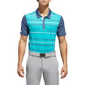 adidas Men's Ultimate365 Novelty Stripe Golf Polo