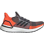 adidas Men's Ultraboost 19 Running Shoes in Grey/Orange/Black