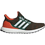 adidas Men's Miami Hurricanes Ultra Boost Running Shoes