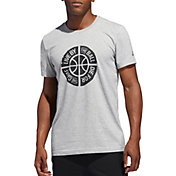 adidas Men's Live By The Ball Graphic Basketball T-Shirt