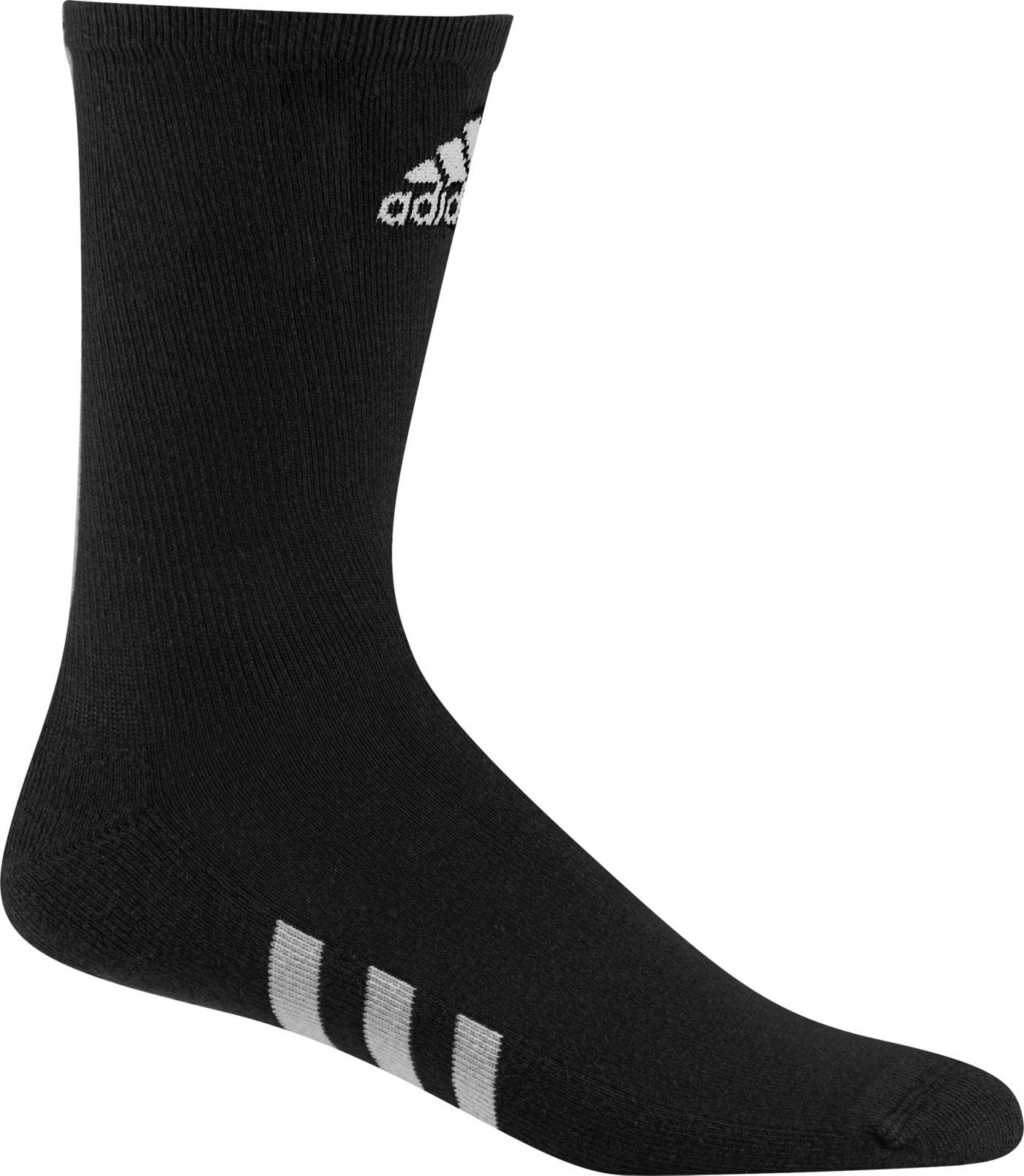 adidas Men's Crew Golf Socks – 3 pack