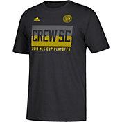 adidas Men's 2018 MLS Cup Playoffs Columbus Crew Black T-Shirt