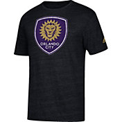 adidas Men's Orlando City Vintage Too Black Heathered T-Shirt