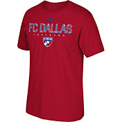 adidas Men's FC Dallas Go To Red Performance T-Shirt