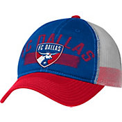 adidas Men's FC Dallas Team Royal Adjustable Trucker Hat