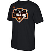 adidas Men's Houston Dynamo Basic Logo BlackT-Shirt