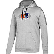 adidas Men's FC Cincinnati Diamond Heather Grey Performance Hoodie