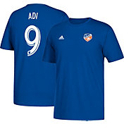 adidas Men's FC Cincinnati Fanendo Adi #9 Blue Player T-Shirt