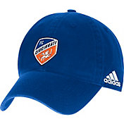 adidas Men's FC Cincinnati Shield Blue Adjustable Hat