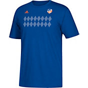 adidas Men's FC Cincinnati Win Pattern Blue T-Shirt