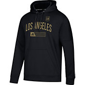 adidas Men's Los Angeles FC Team Black Hoodie