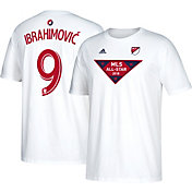 adidas Men's 2018 MLS All-Star Game Zlatan Ibrahimovic #9 White Player Tee