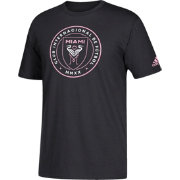 f17edb1a8c2 adidas Men s Inter Miami FC Crest Black T-Shirt