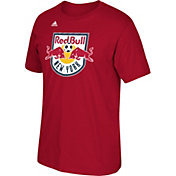 adidas Men's New York Red Bulls Logo Red T-Shirt