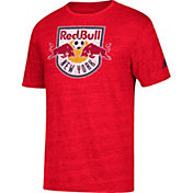 adidas Men's New York Red Bulls Vintage Too Red Heathered T-Shirt