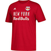 adidas Men's New York Red Bulls Jersey Hook Red T-Shirt