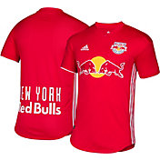 adidas Men's New York Red Bulls Secondary Authentic Jersey