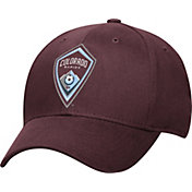 adidas Men's Colorado Rapids Logo Structured Maroon Flex Hat