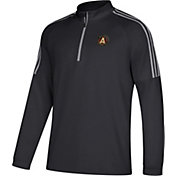 adidas Men's Atlanta United Logo Black Quarter-Zip Pullover