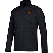 adidas Men's Atlanta United Ultimate Black Heathered Performance Quarter-Zip Pullover
