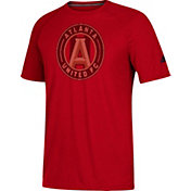 adidas Men's Atlanta United Logo Ultimate Red Performance T-Shirt