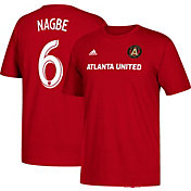 adidas Men's Atlanta United Darlington Nagbe #6 Red Player T-Shirt