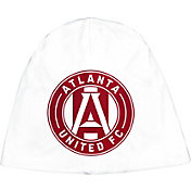 adidas Men's Atlanta United Authentic Performance White Knit Beanie