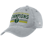 adidas Men's 2018 MLS Cup Conference Champions Portland Timbers Grey Adjustable Hat