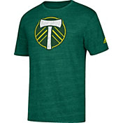 adidas Men's Portland Timbers Tri-Blend Green T-Shirt