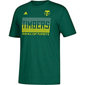 adidas Men's 2018 MLS Cup Playoffs Portland Timbers Green T-Shirt
