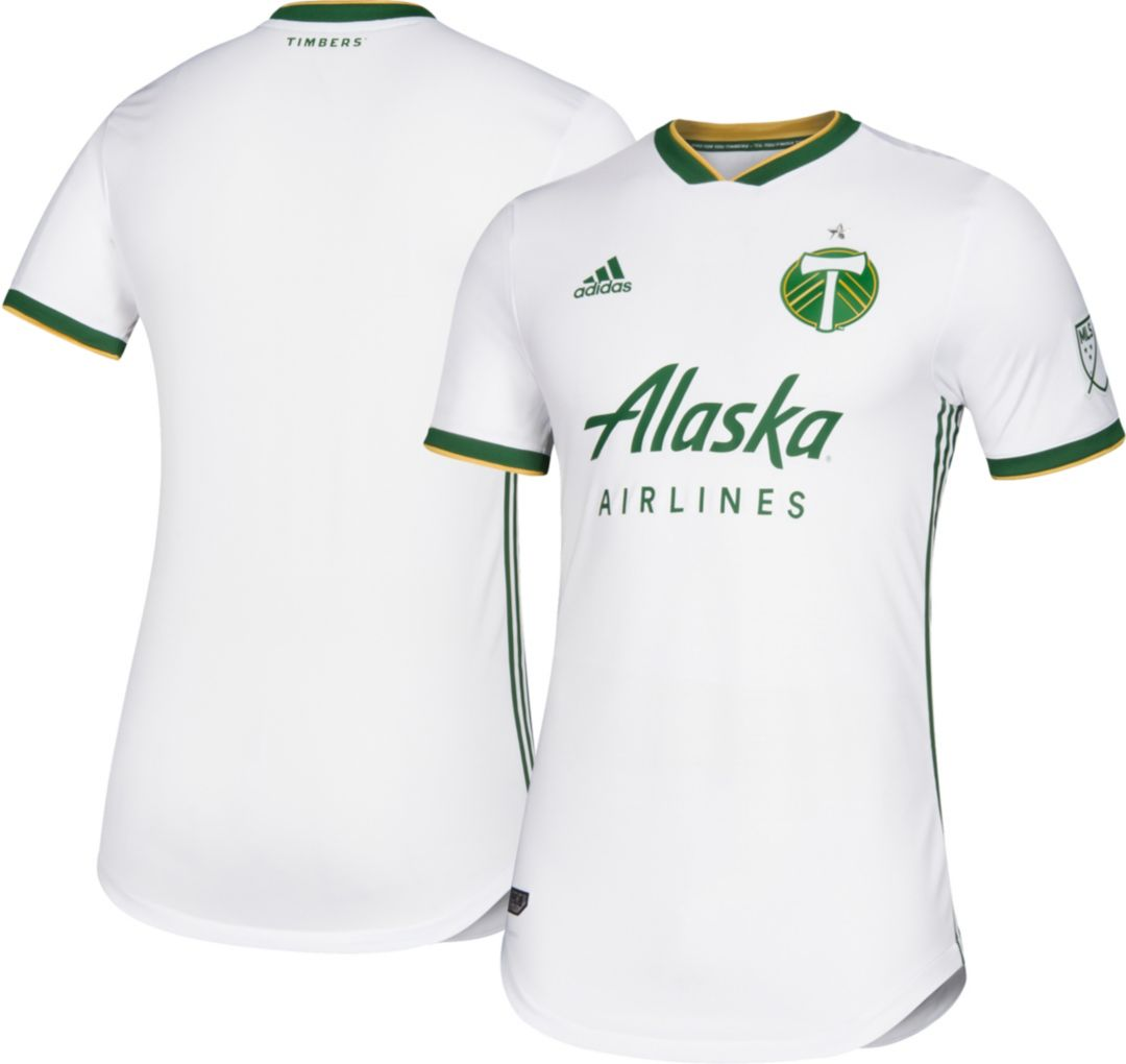 new product aa96c e2dc3 adidas Men's Portland Timbers Secondary Authentic Jersey