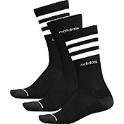 adidas Men's 3-Stripe Crew Sock 3 Pack