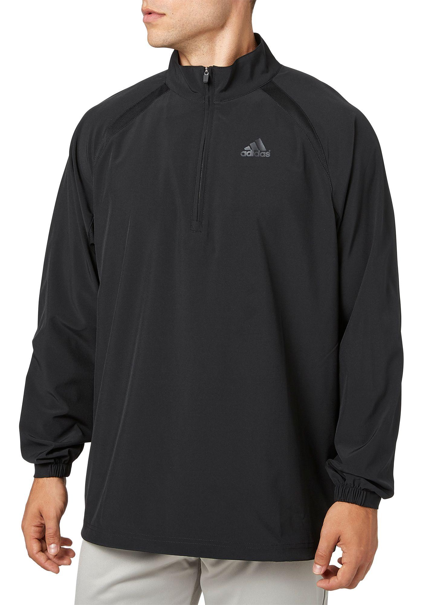 adidas Men's Triple Stripe Long Sleeve Baseball Jacket