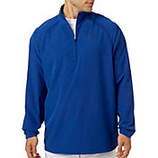 adidas Men's Triple Stripe Long Sleeve Baseball Jacket