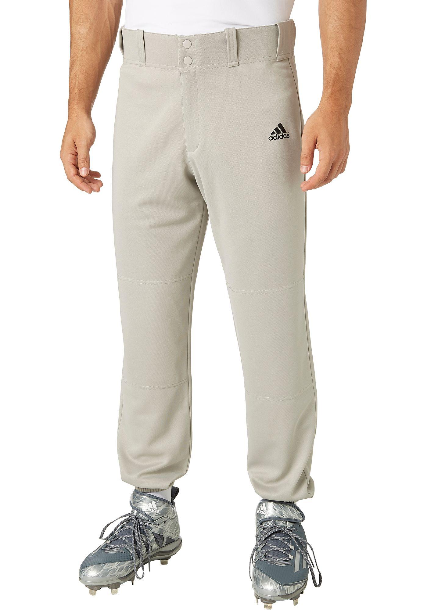 adidas Men's Triple Stripe Traditional Baseball Pants