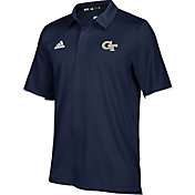 adidas Men's Georgia Tech Yellow Jackets Navy Sideline Iconic Polo