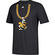 adidas Men's Miami Hurricanes 'Turnover Chain' Football Black T-Shirt