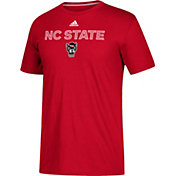 adidas Men's NC State Wolfpack Red Go-To Performance T-Shirt