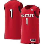 adidas Men's NC State Wolfpack #1 Red Replica Basketball Jersey