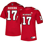 adidas Men's Philip Rivers NC State Wolfpack Red #17 Replica Football Jersey