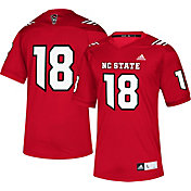 adidas Men's NC State Wolfpack Red #18 Replica Football Jersey