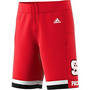 adidas Men's NC State Wolfpack Red Replica Basketball Shorts