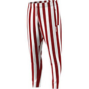 adidas Men's Indiana Hoosiers Crimson/White Candy Stripe Basketball Pants