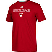 adidas Men's Indiana Hoosiers Crimson Go-To Performance T-Shirt