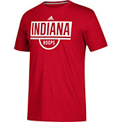 adidas Men's Indiana Hoosiers Crimson Practice Basketball T-Shirt