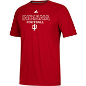 adidas Men's Indiana Hoosiers Crimson Ultimate Performance Football T-Shirt