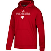 adidas Men's Indiana Hoosiers Crimson Team Issue Performance Hoodie
